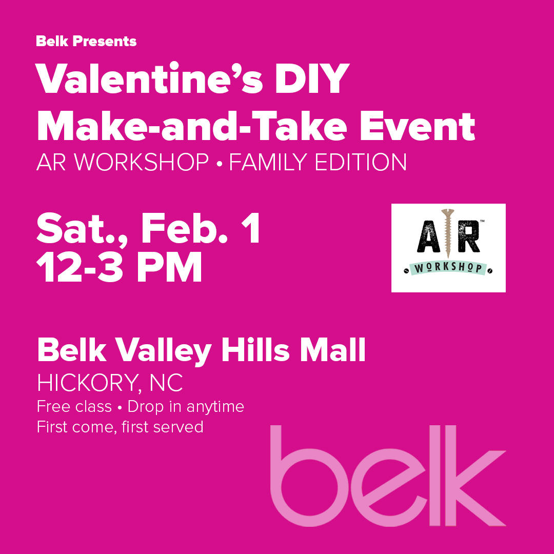 Valentine's Day Make-and-Take Event