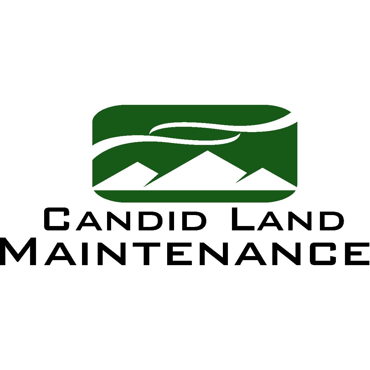 Candid Land Maintenance Logo
