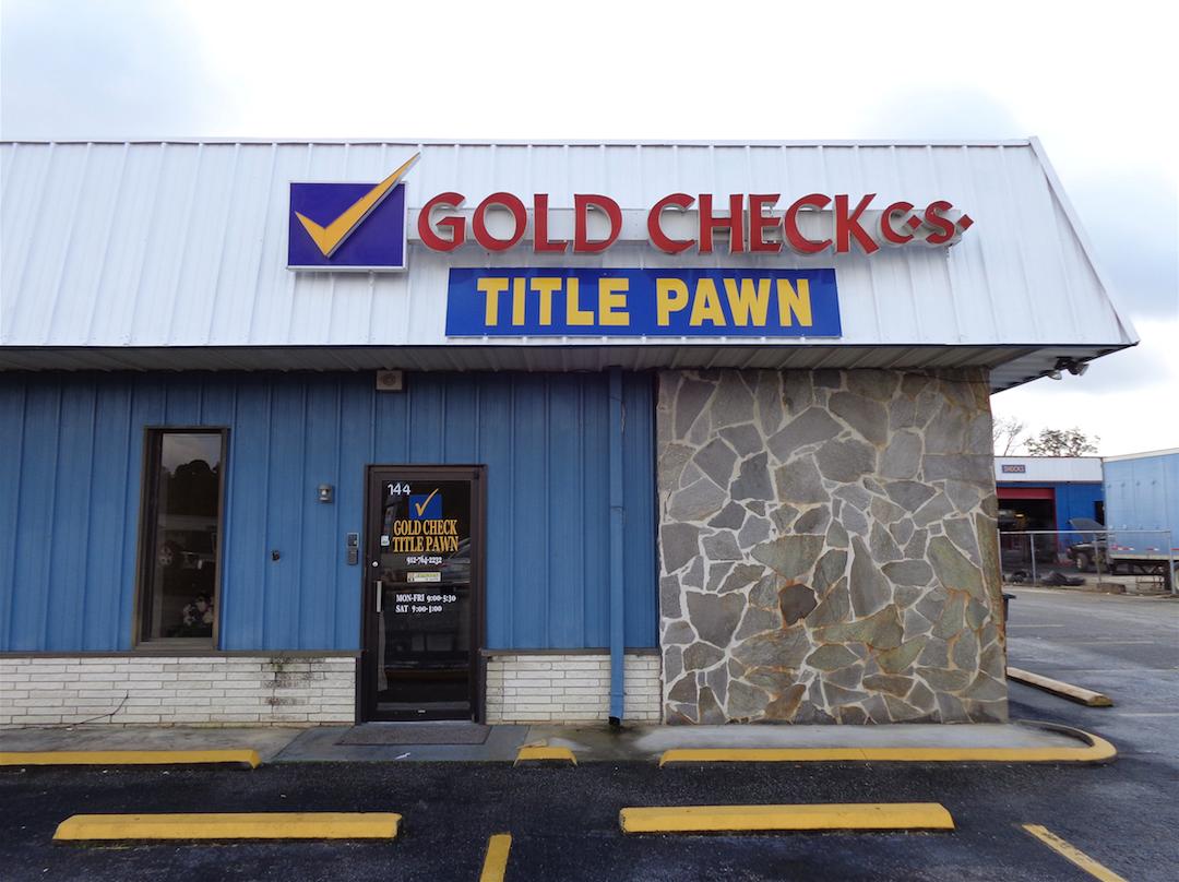 check into cash title pawn in statesboro ga 30458. Black Bedroom Furniture Sets. Home Design Ideas