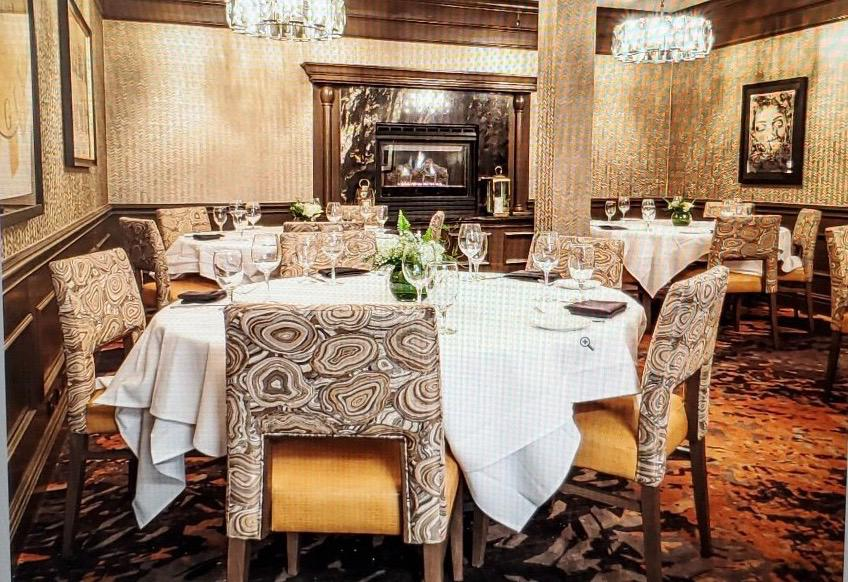 Del Frisco's Double Eagle Steakhouse Denver Orchard Room private dining room