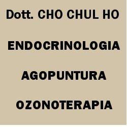 Dr. Cho Chul Ho Endocrinologo Agopuntore