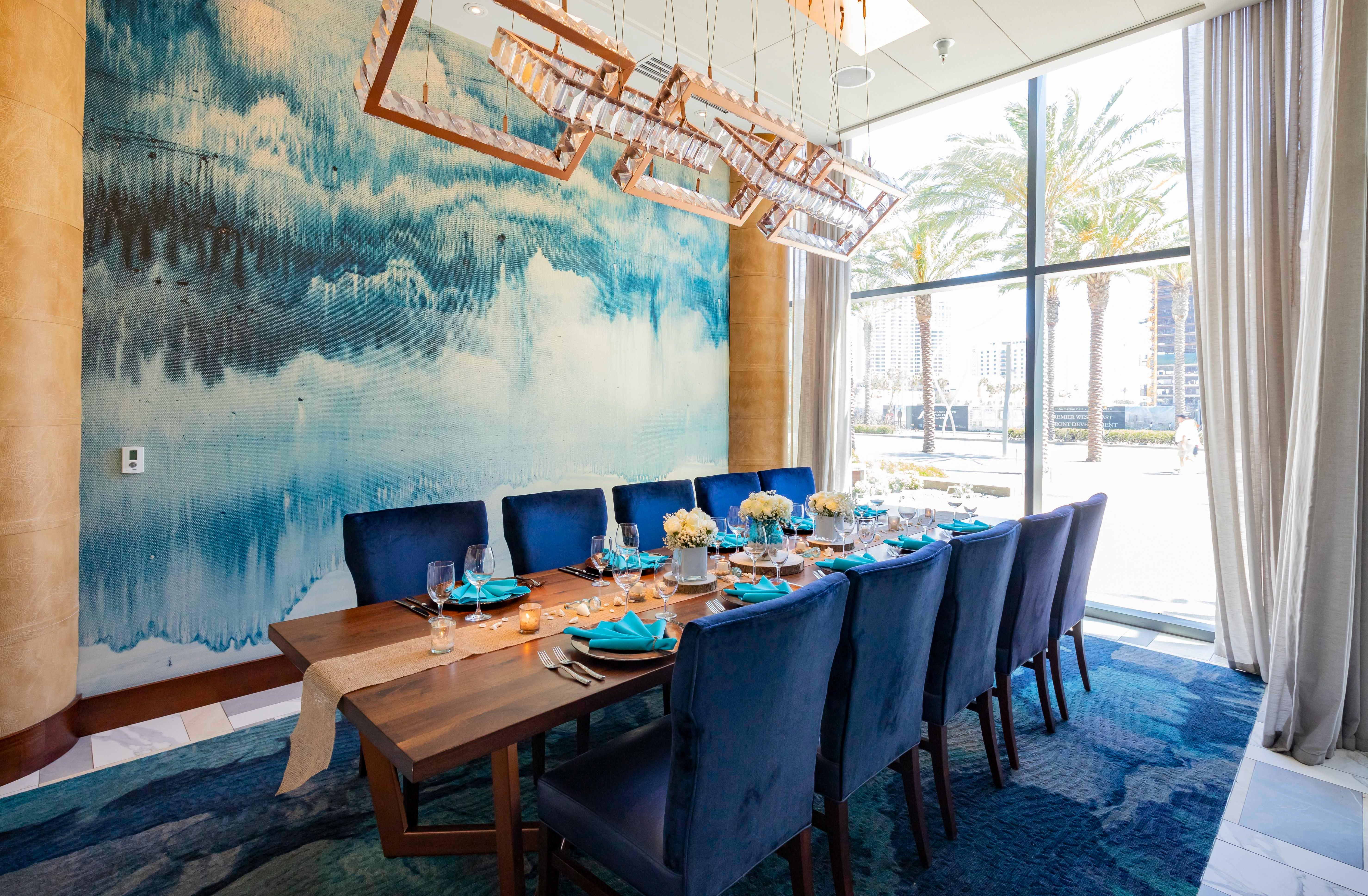 Del Frisco's Double Eagle Steakhouse San Diego Coronado Room private dining room