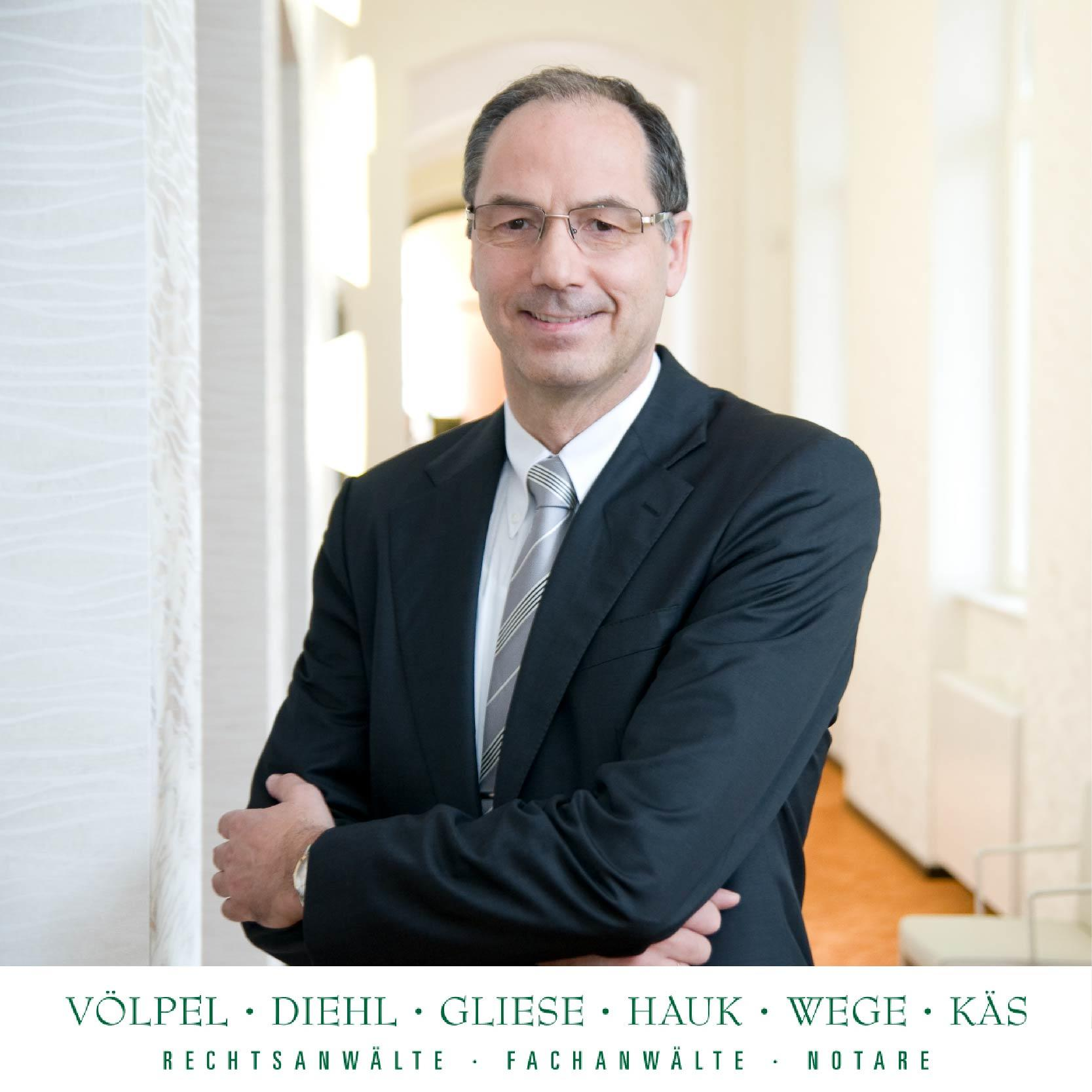 Bild zu Rechtsanwalt Gerhard Hauk - Sozietät Völpel & Kollegen in Gießen