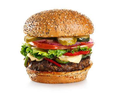 Cajun Burger made by City Burger Co.