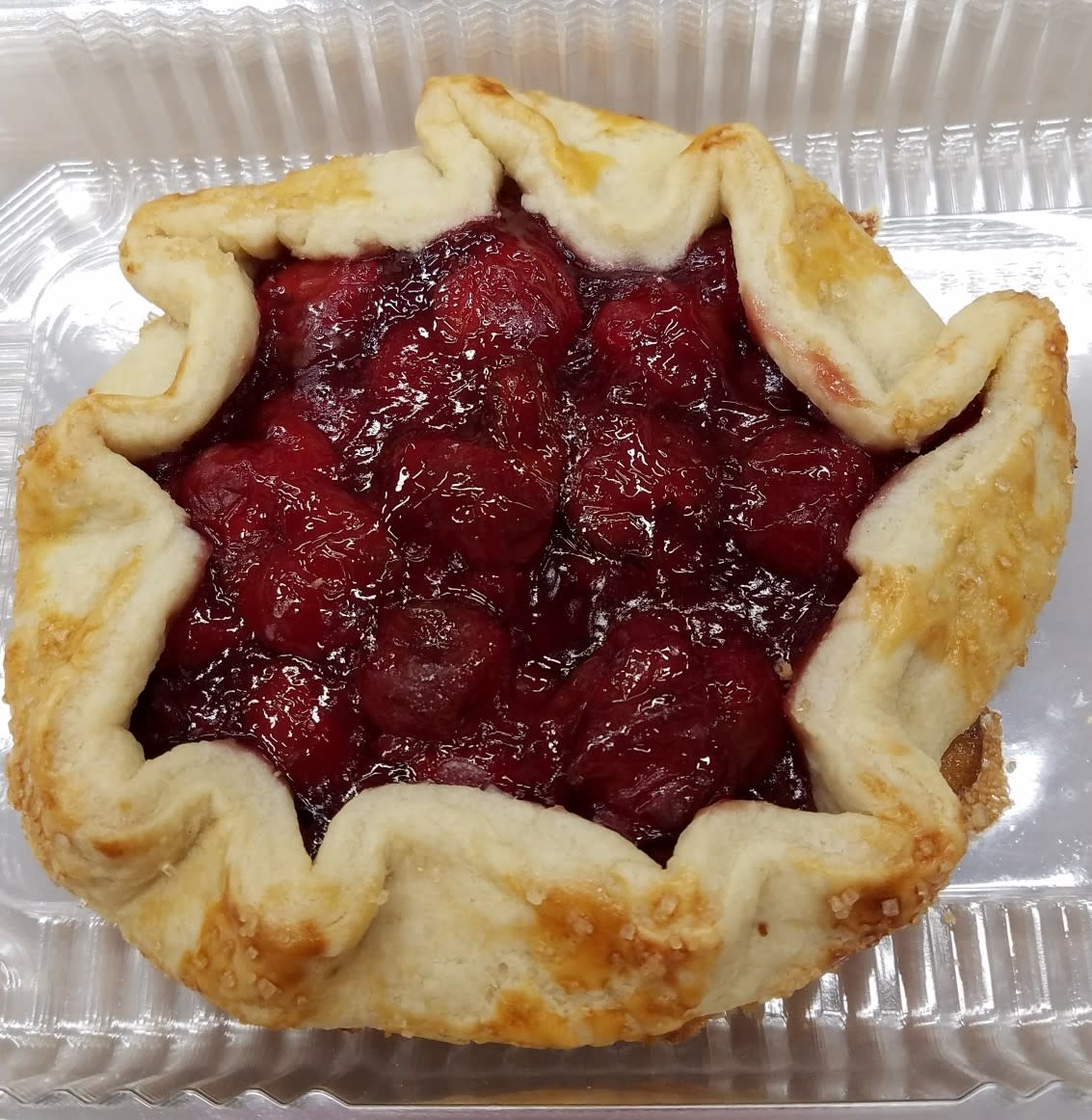 Cherry Crostata Sweet Indulgence Curbside Depew (716)444-8802
