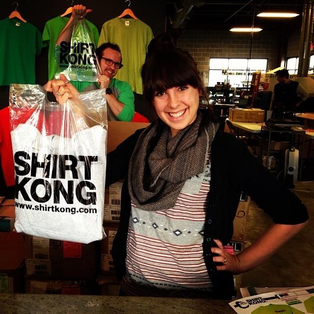 Shirt Kong