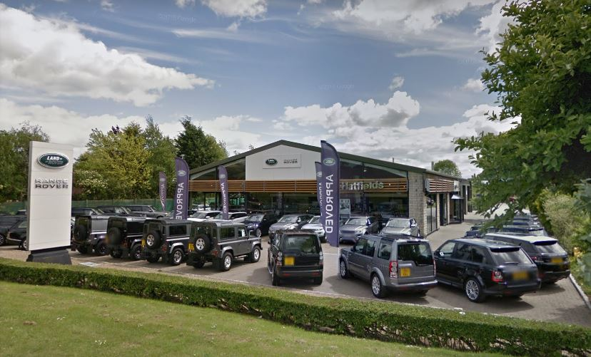 Hatfields Land Rover Pickering