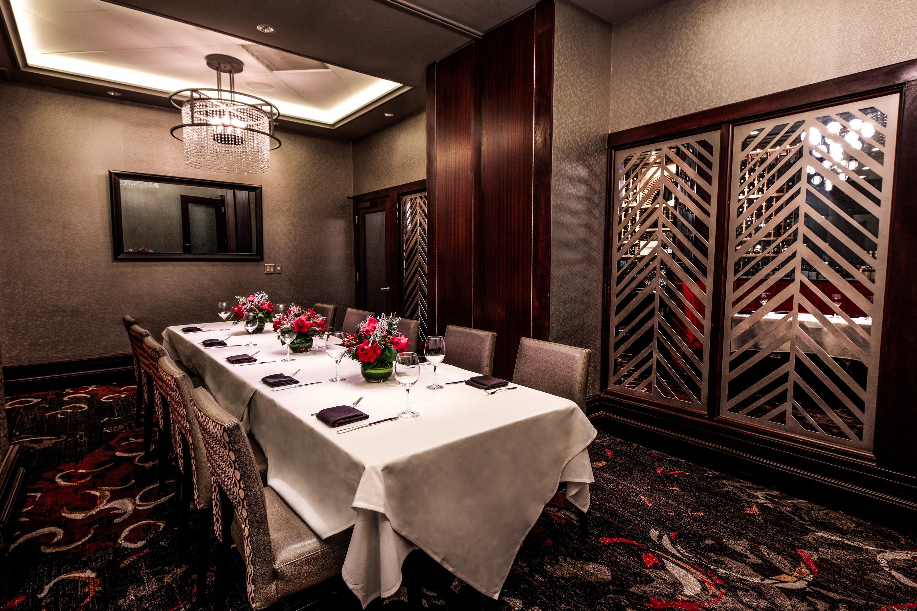 Del Frisco's Double Eagle Steakhouse Houston The Houston Room I private dining room