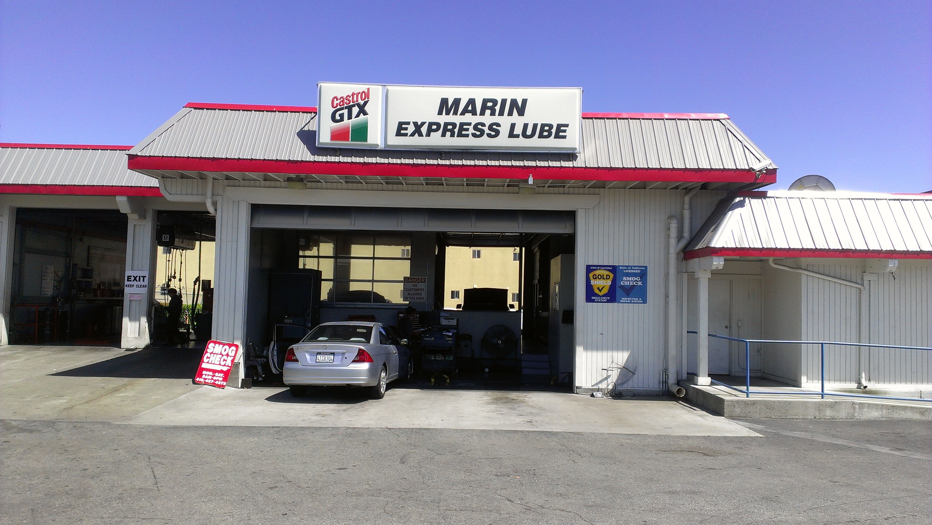 MARIN EXPRESS LUBE & DIAGNOSTIC CENTER
