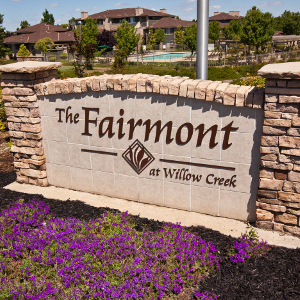 The fairmont at willow creek in folsom ca 95630 for Lodge at willow creek