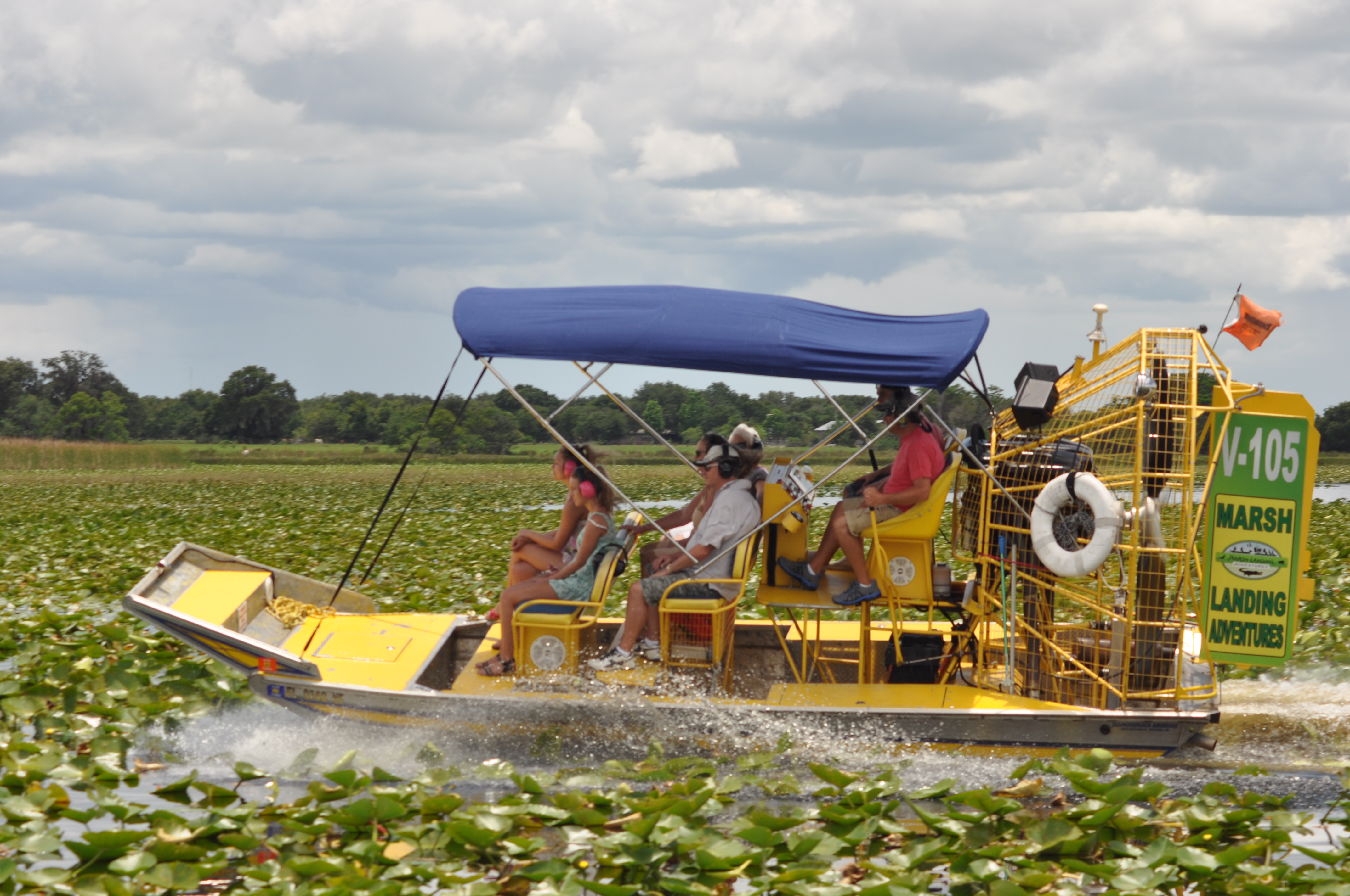 Orlando Airboat Tours Neptune Road
