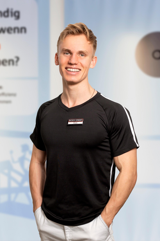 EMS Trainer Malte Weigel - Bodystreet Instructor