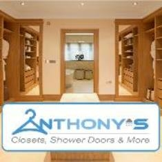 Anthonyu0027s Closets Shower Doors And More