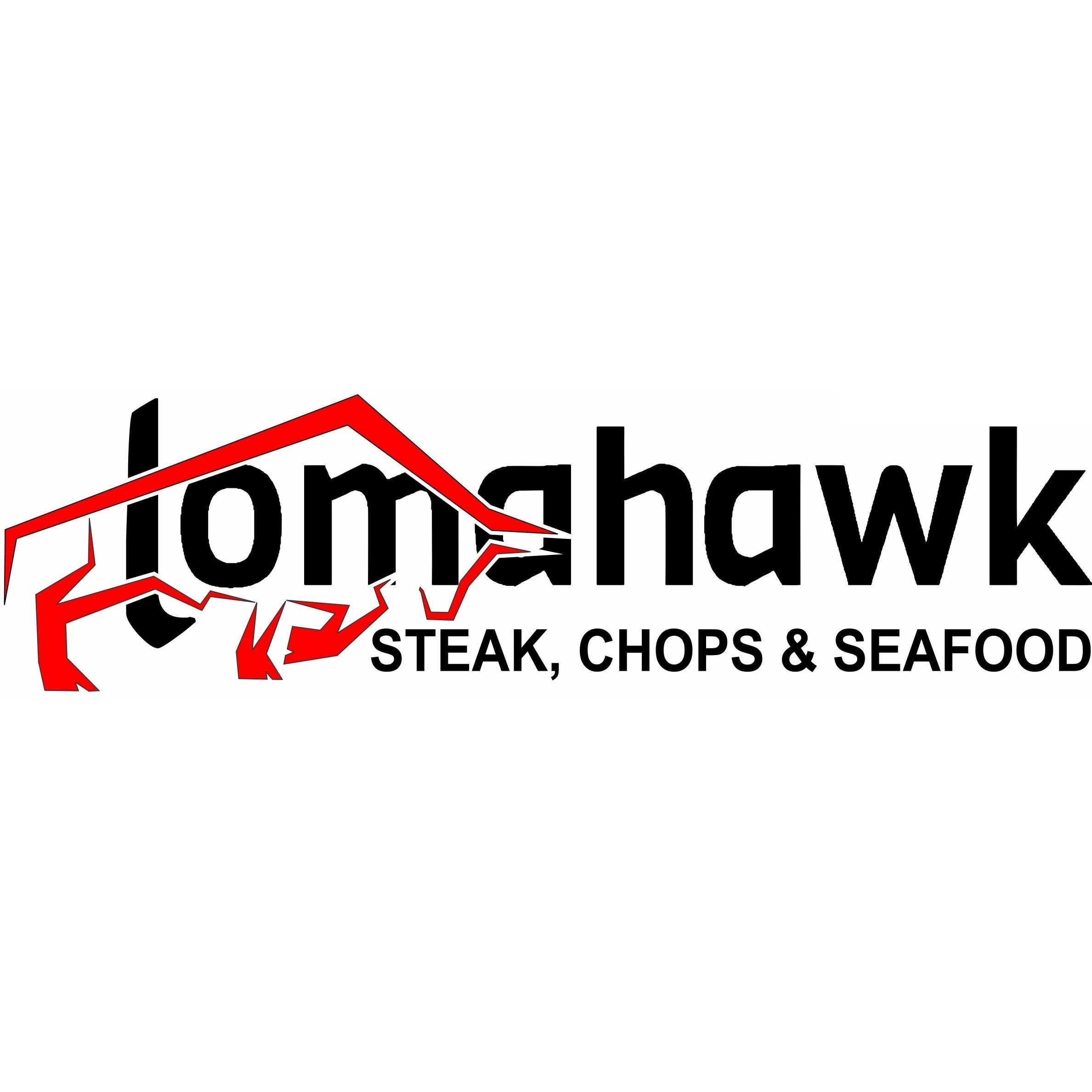 Tomahawk Steak Chops and Seafood
