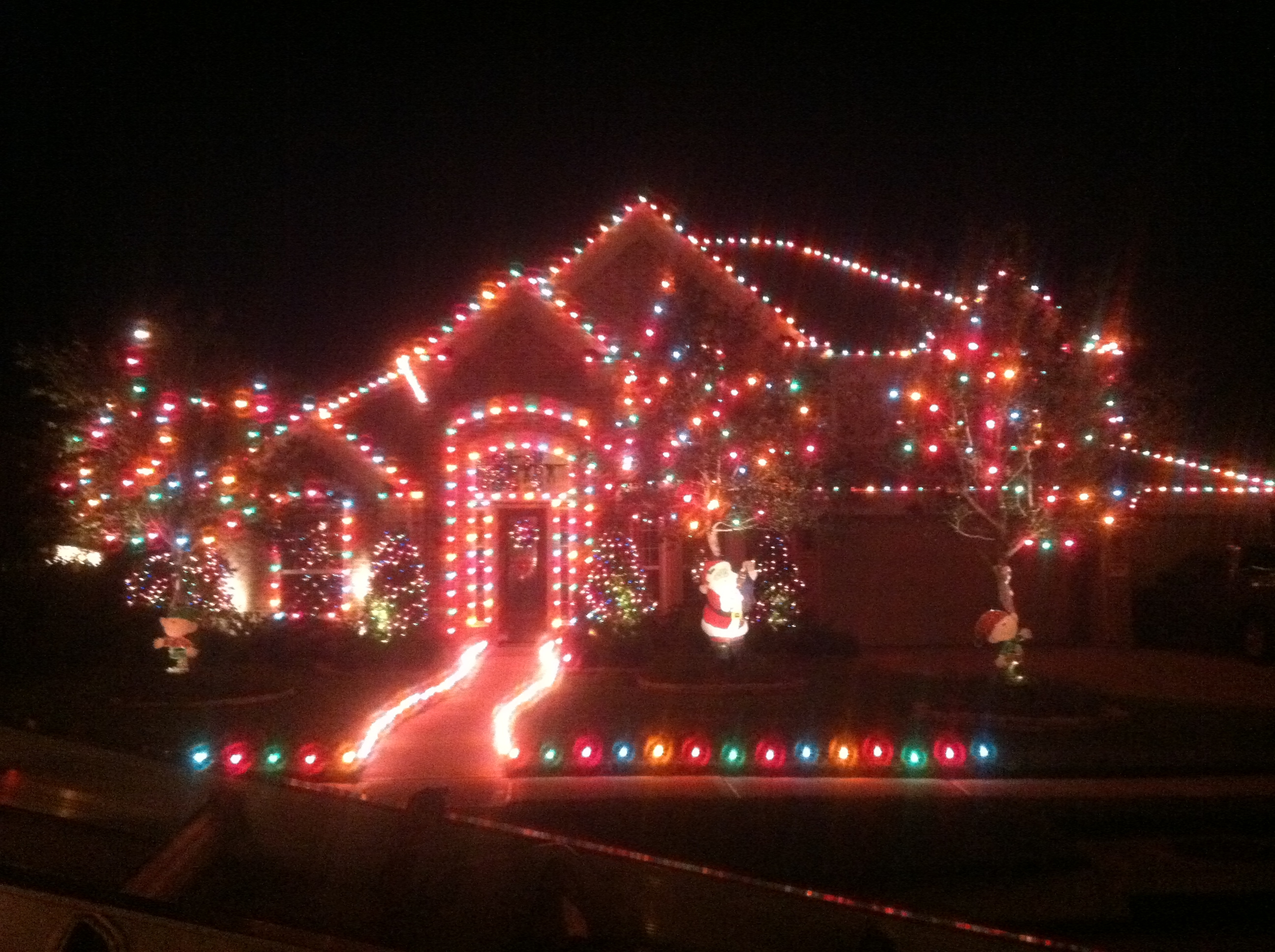 Garrett's Industrial Pressure Washing & Tree Services, Christmas Light Installation Services