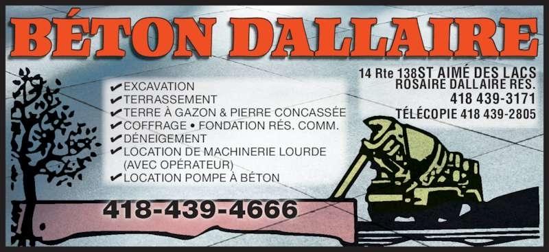 Béton Dallaire
