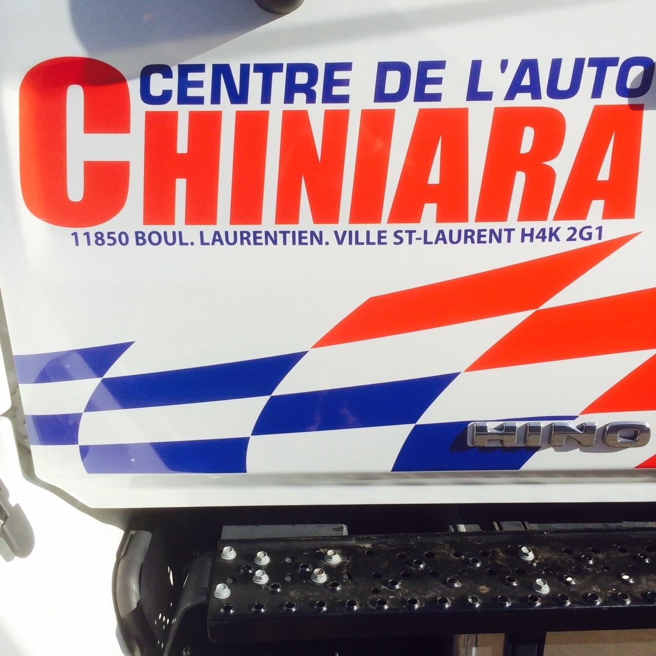 Centre de L'Auto Chiniara à Montréal
