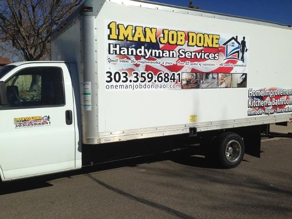 1 Man Job Done Handyman Services