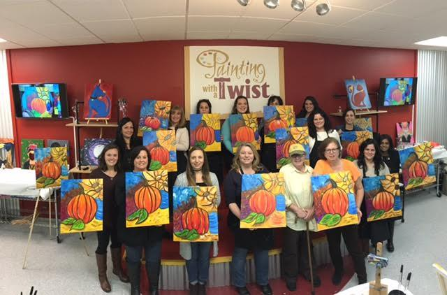 painting with a twist in mount laurel nj 08054