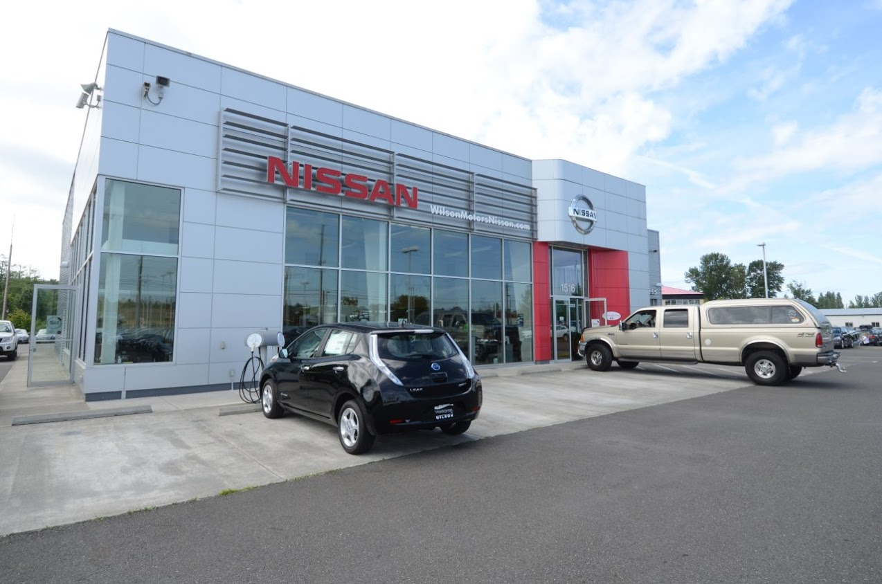 wilson motors nissan in bellingham wa 98229