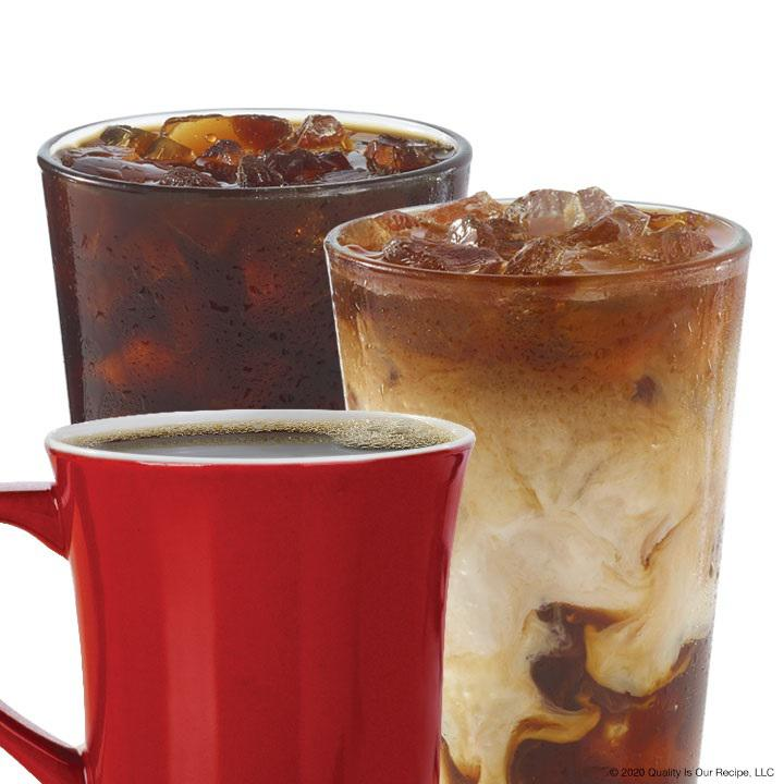Wendy's coffee drinks: hot coffee, cold-brew and Frosty®-ccino Wendy's Freehold (732)303-8443