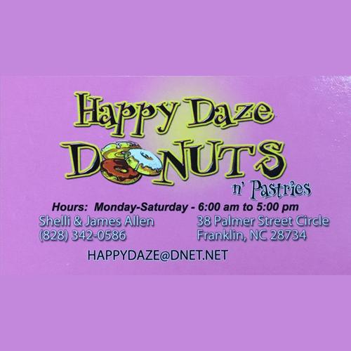 Happy Daze Donuts N' Pastries