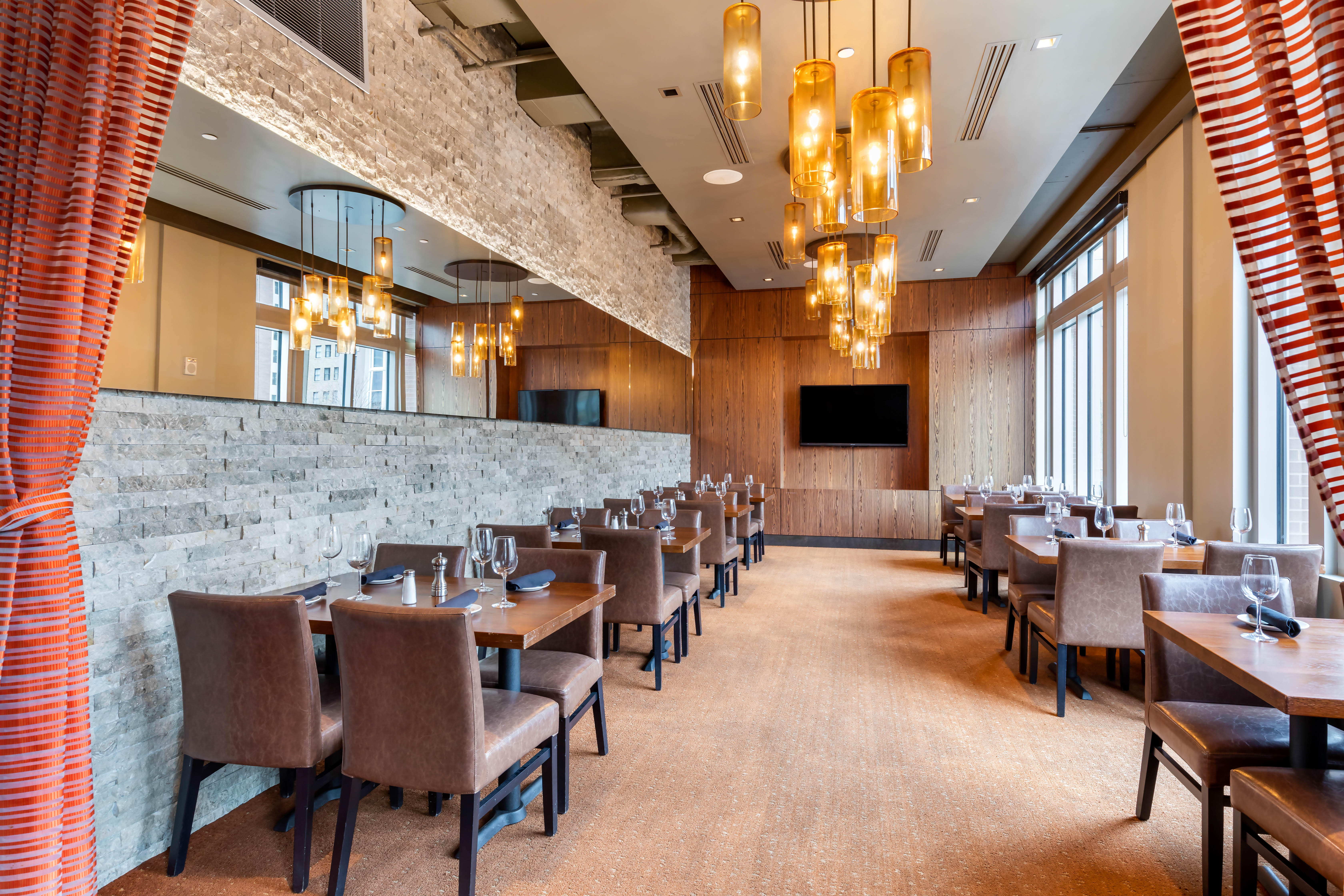 Del Frisco's Grille Fort Worth Sundance Room group dining room