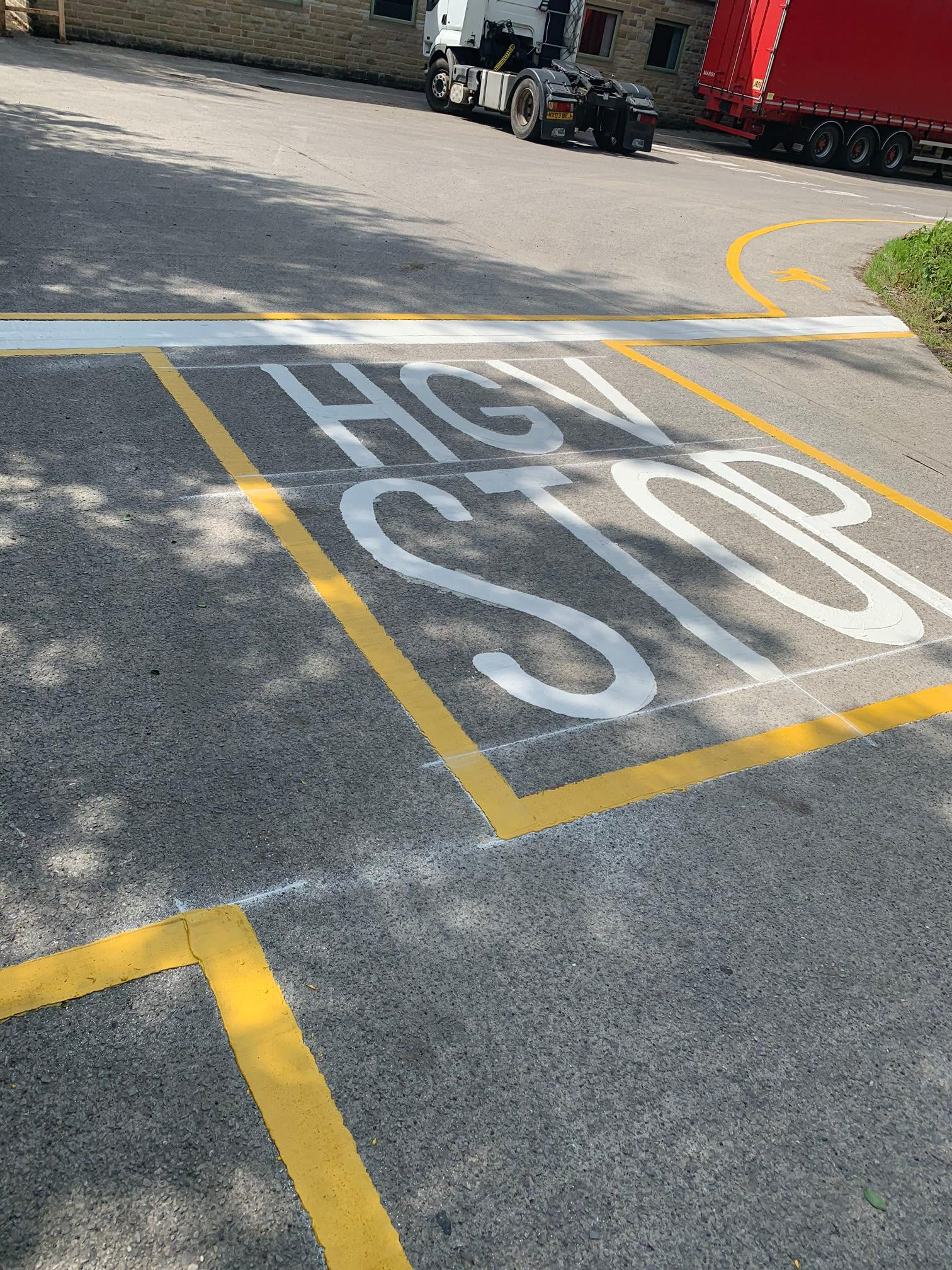 1st Call Road Markings Morecambe 01524 889684