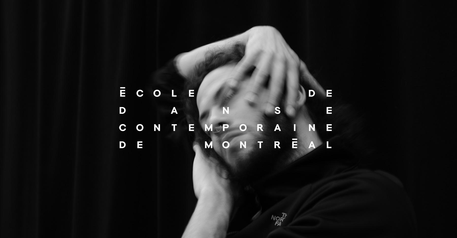 École de Danse Contemporaine de Montréal à Montréal: Photo: Adéral Piot Dancer: Abe Mijnheer
