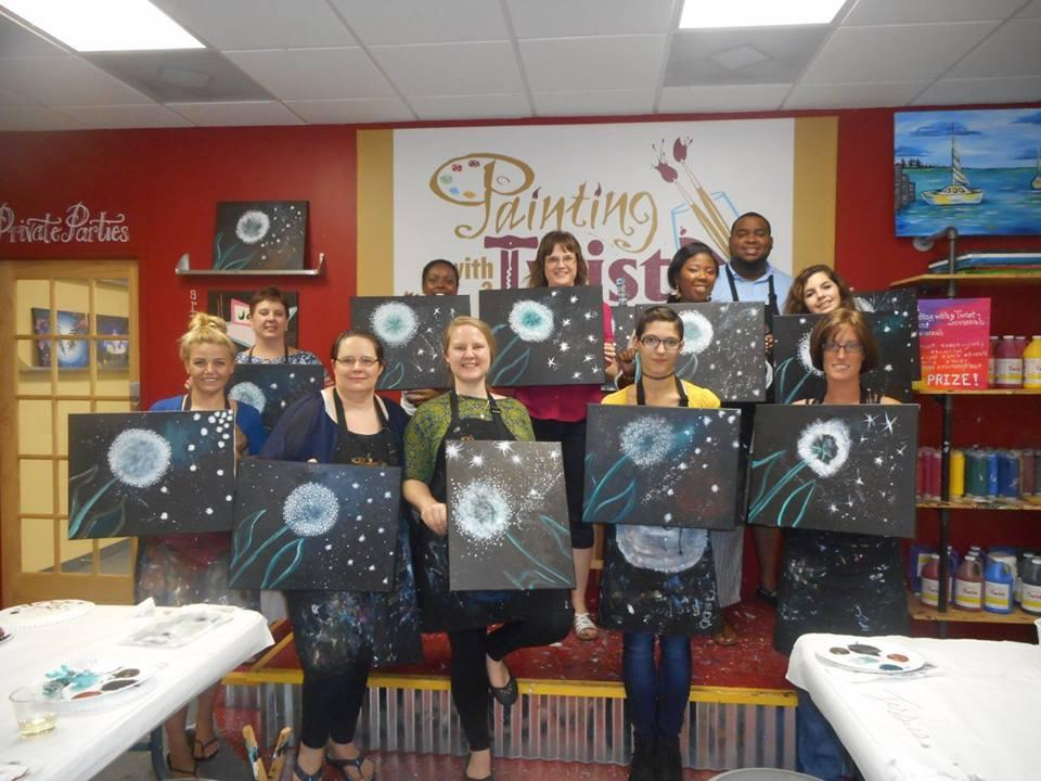 painting with a twist in savannah ga 31401