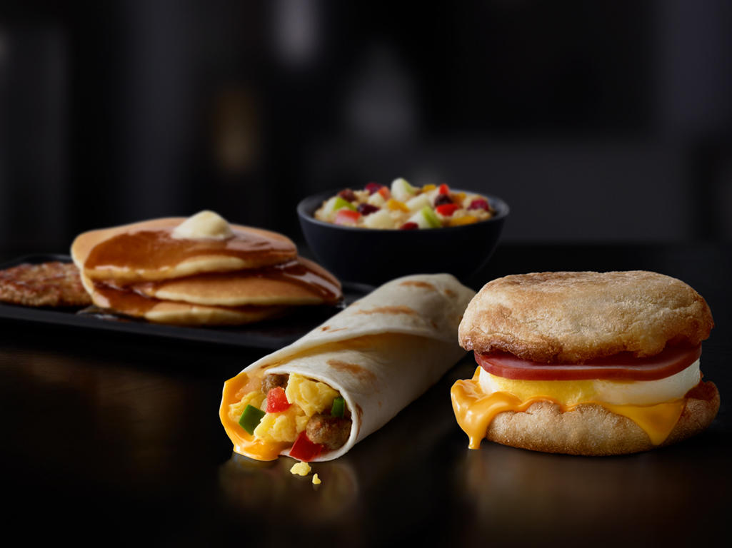 McDonald's All Day Breakfast Menu Items