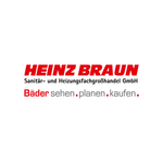 Logo von Heinz Braun Sanitär- und Heizungsfachgroßhandel GmbH