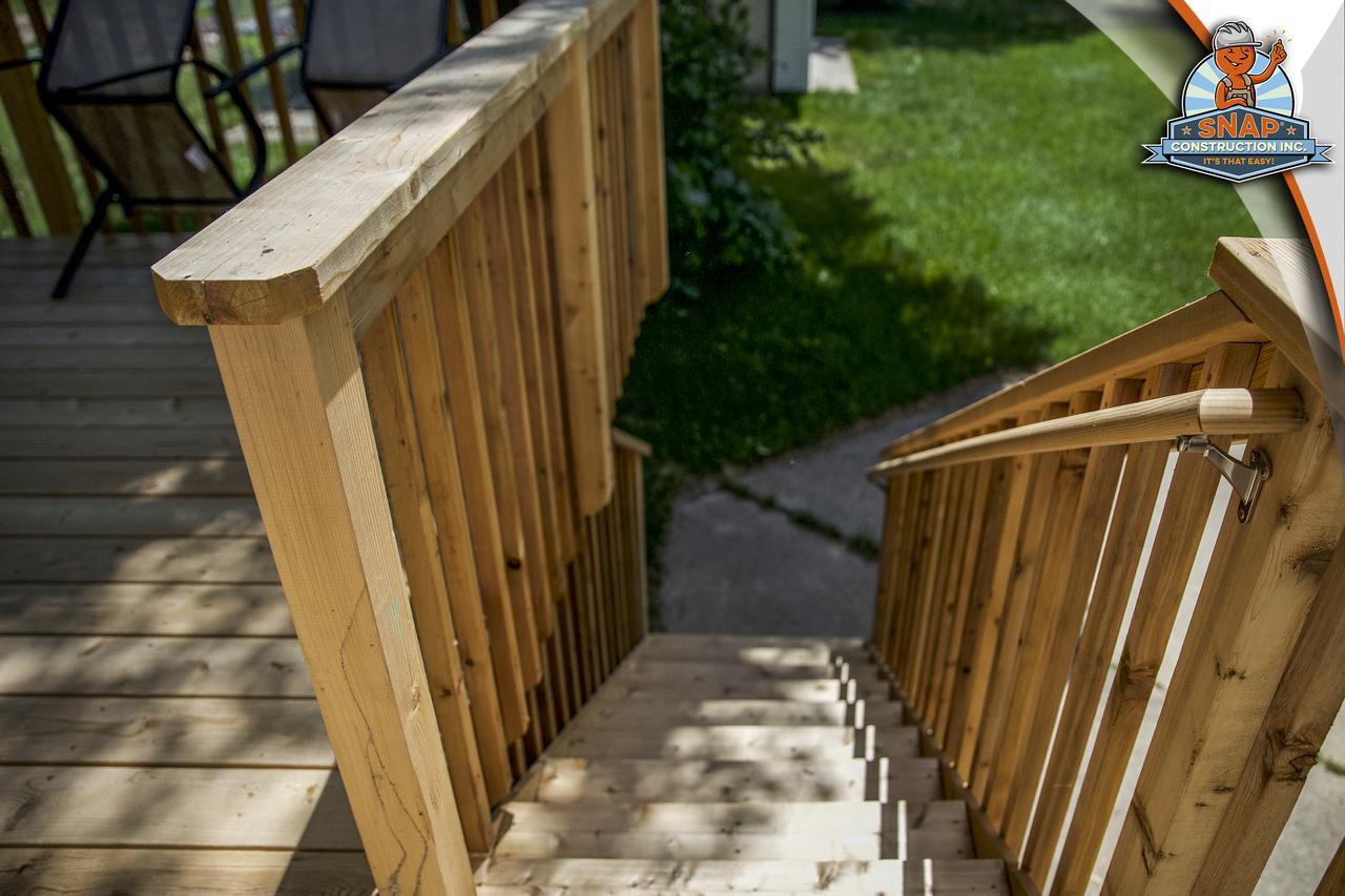 Deck build - Roseville, Minnesota