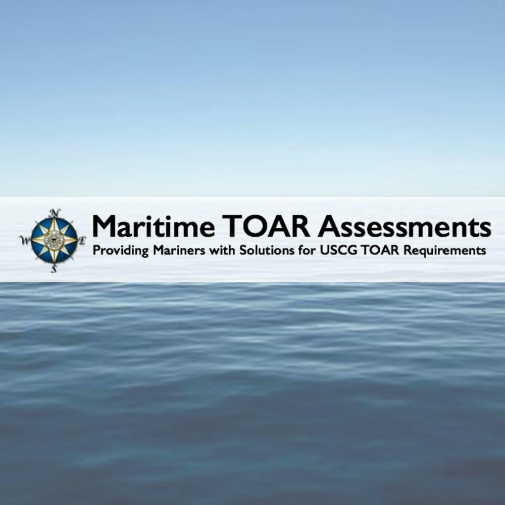 Maritime TOAR Assessments and Marine Safety Services