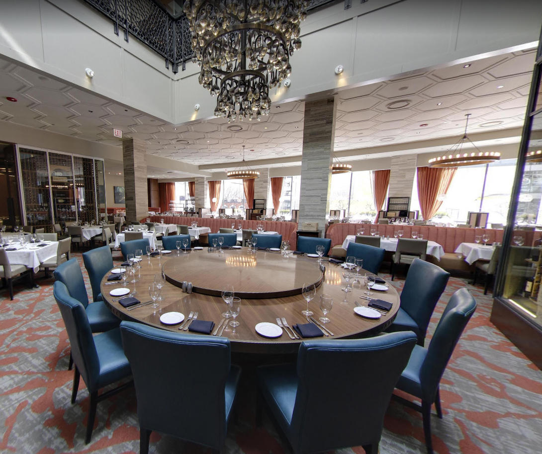 Del Frisco's Double Eagle Steakhouse Chicago The Knight's Table private dining room