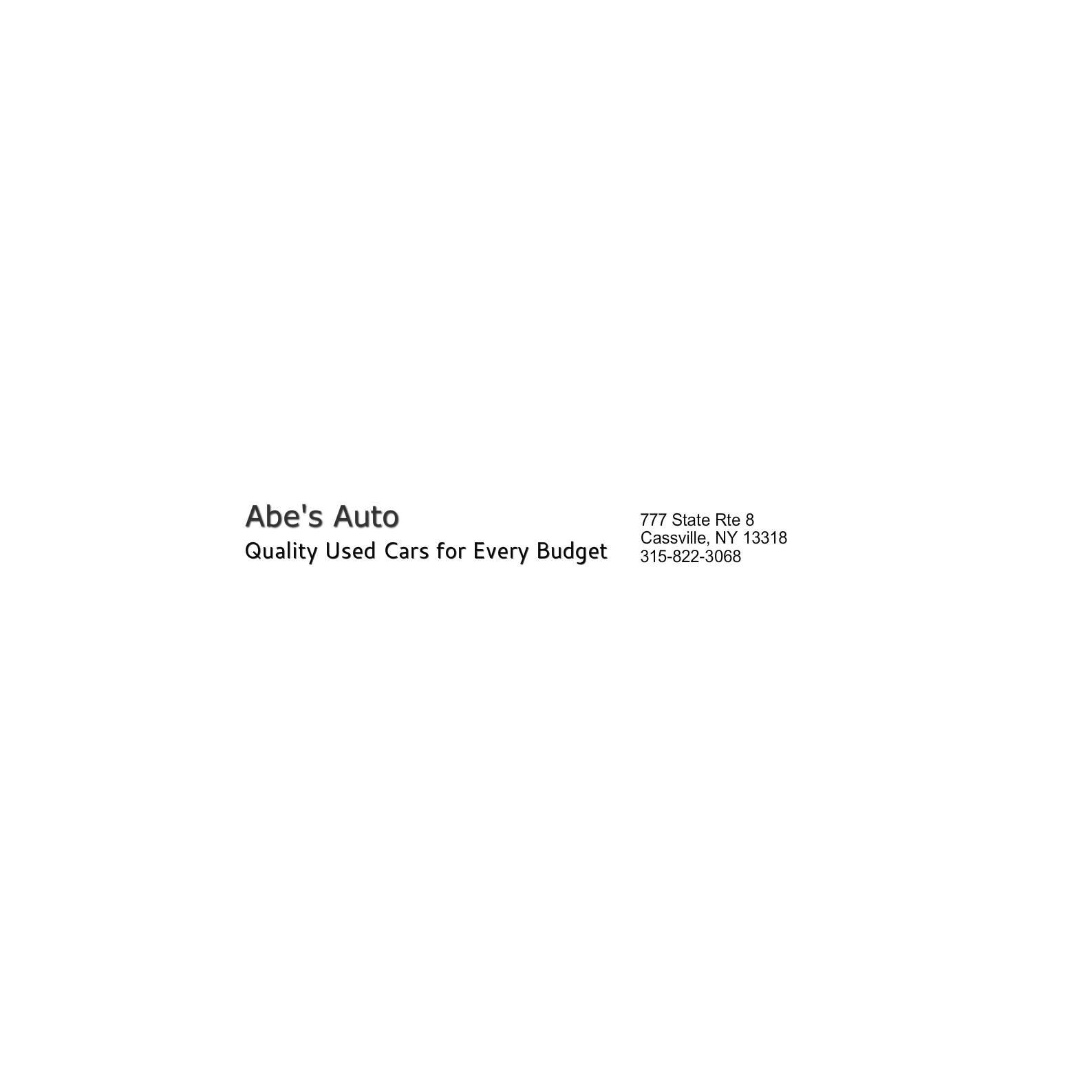 Abes Auto