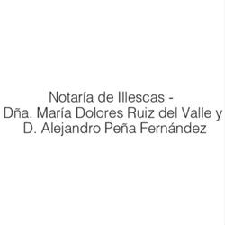 Notarios Doña María Dolores Ruiz Del Valle Garcia Y Don Alejandro Peña Fernandez