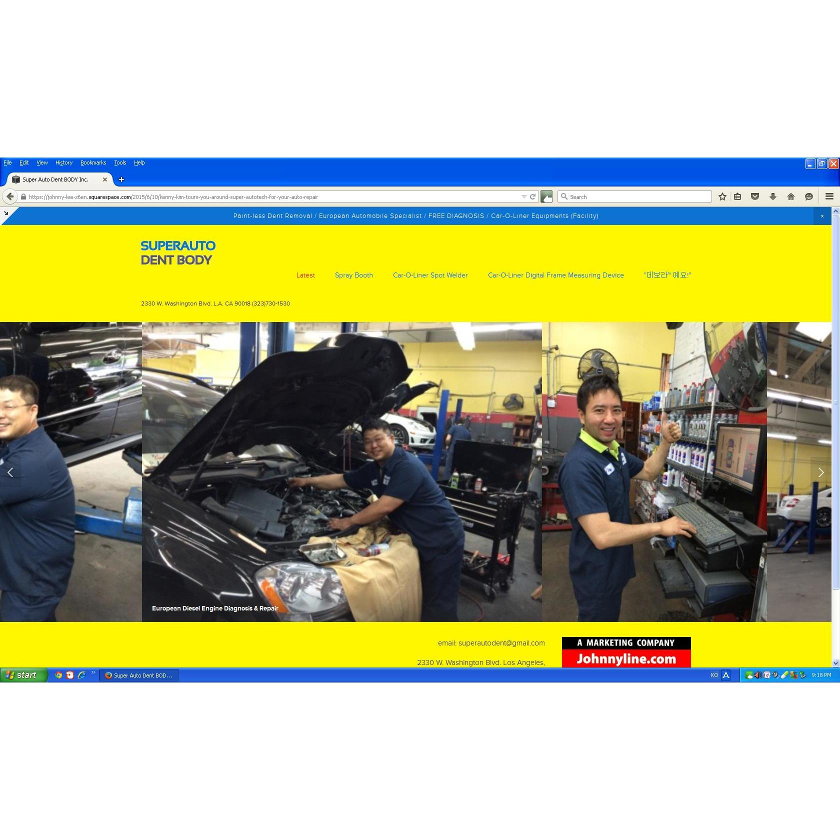 Super AutoDent Body Inc. dba Super Autoteck Inc. - Los Angeles, CA - Auto Body Repair & Painting