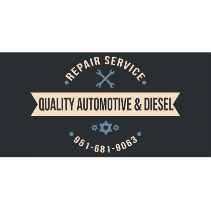 Quality Automotive & Diesel Repair