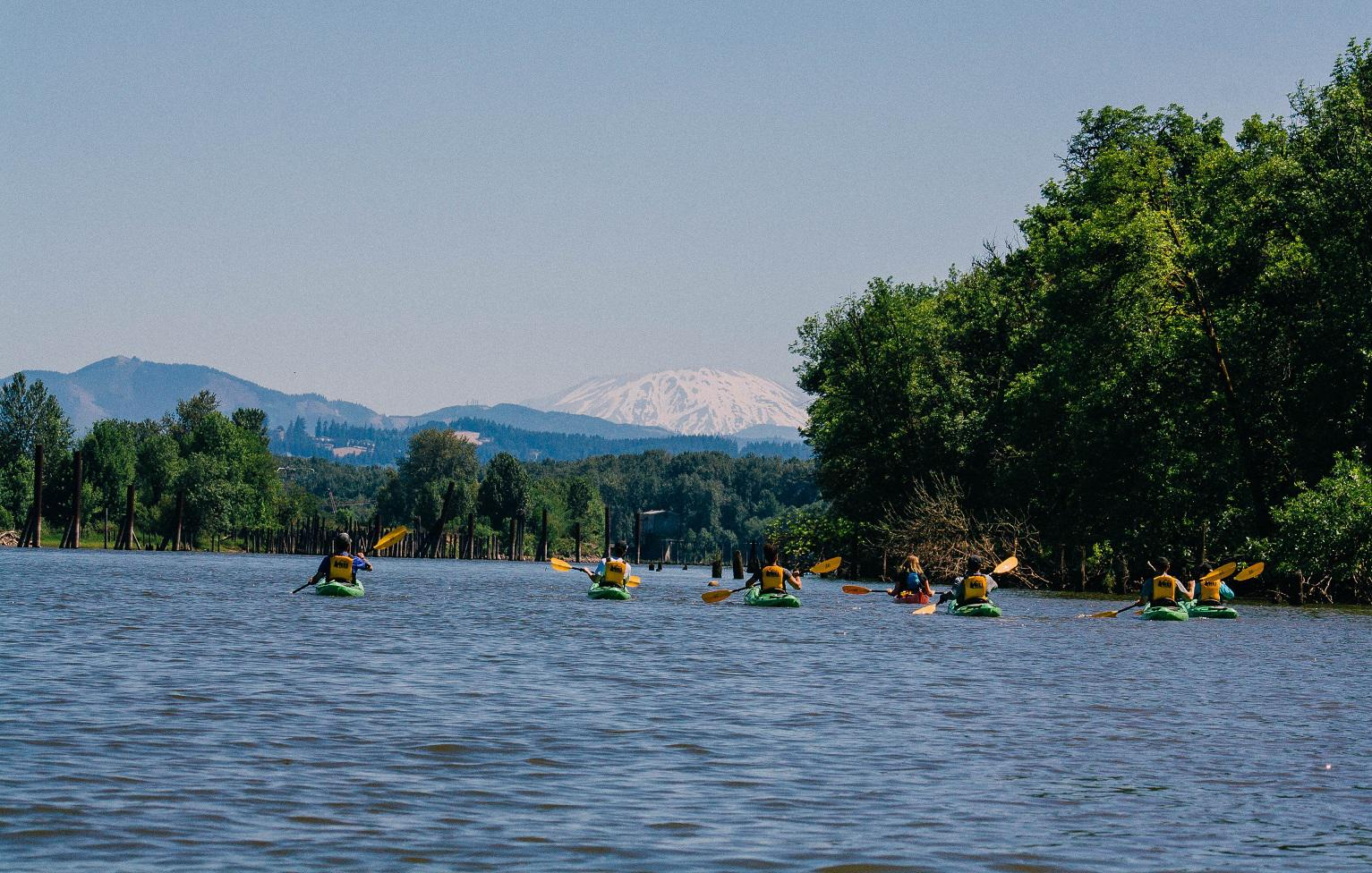Kayak Tour of Scappoose Bay