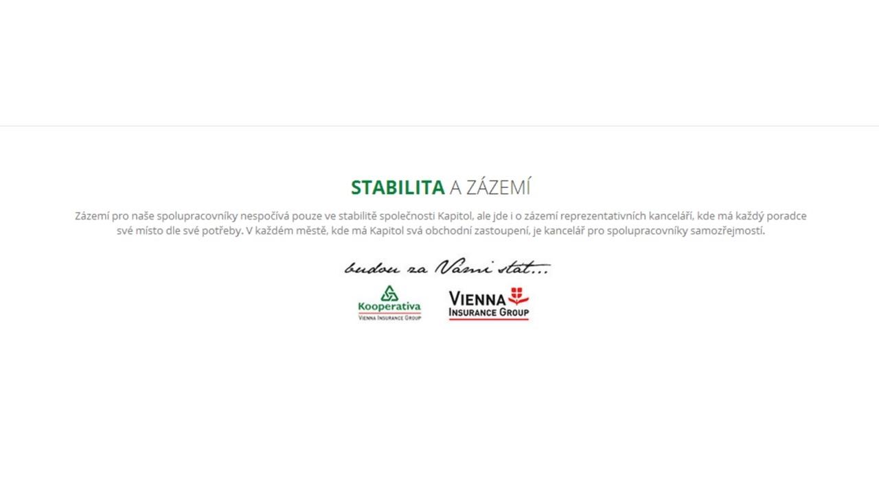 Hypoteční centrum - Michal Veselý DiS. - KAPITOL hypoteční a investiční makléři