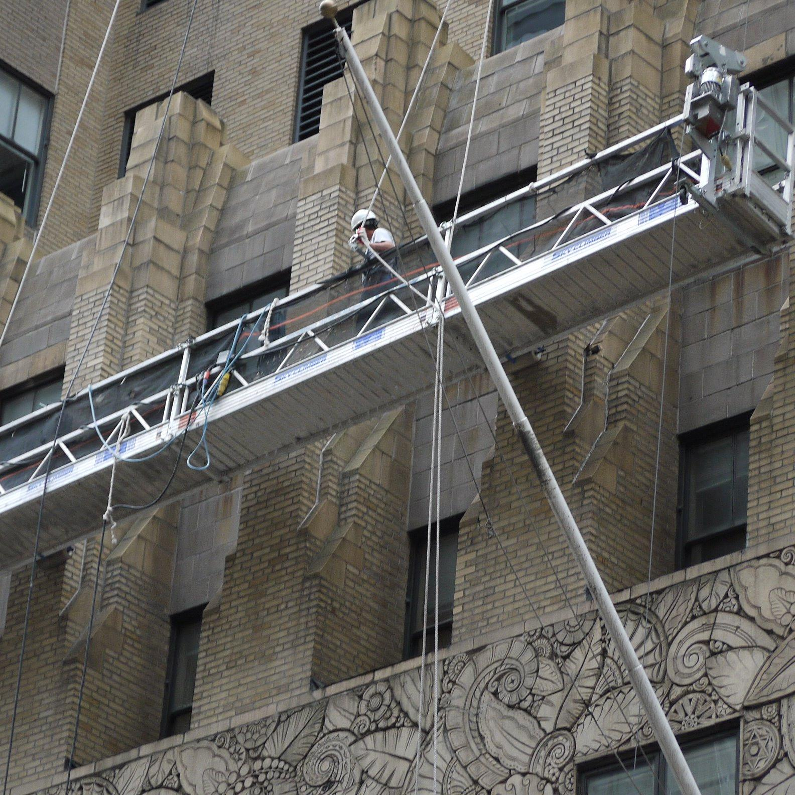 Swing Staging Scaffolding Long Island City