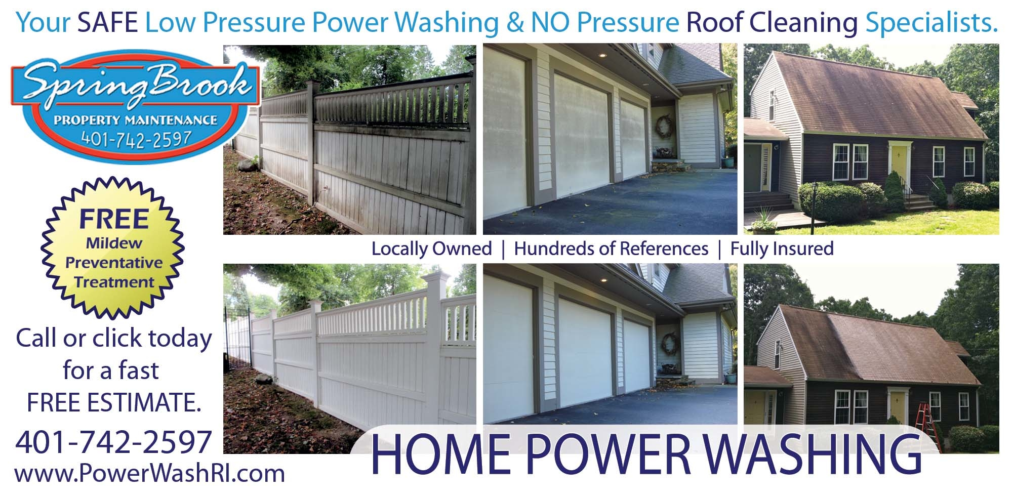 Springbrook Power Washing Coupons Near Me In Westerly