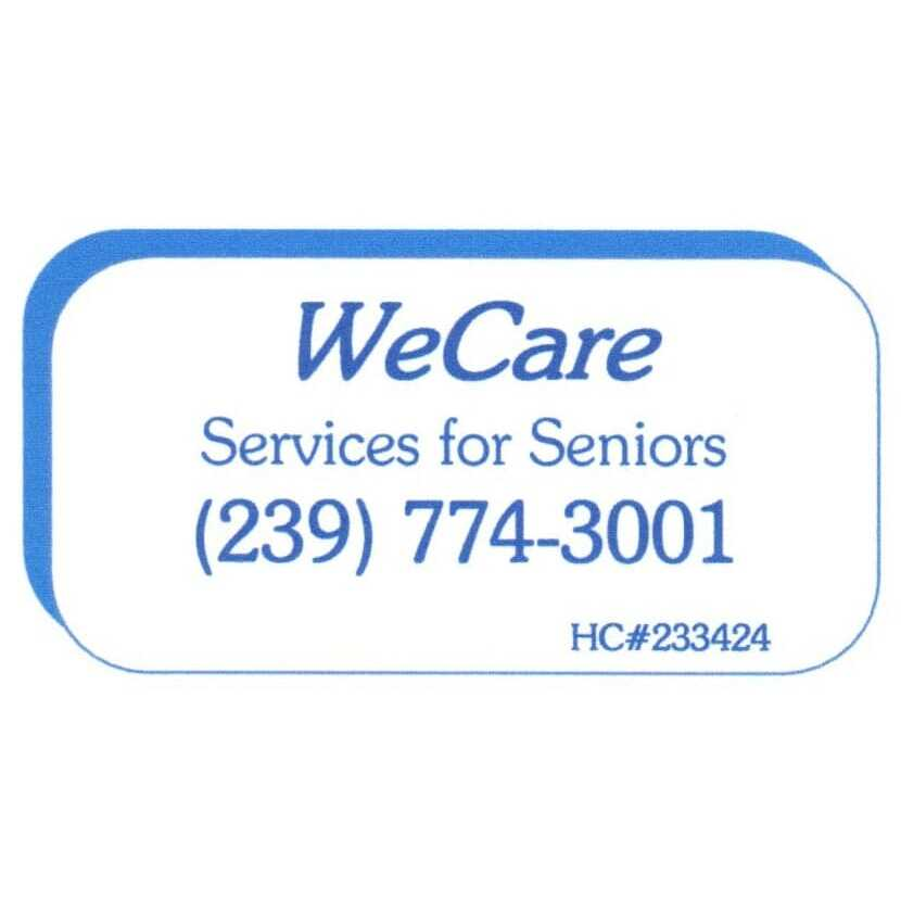 WeCare Services for Seniors - Naples, FL - Home Health Care Services