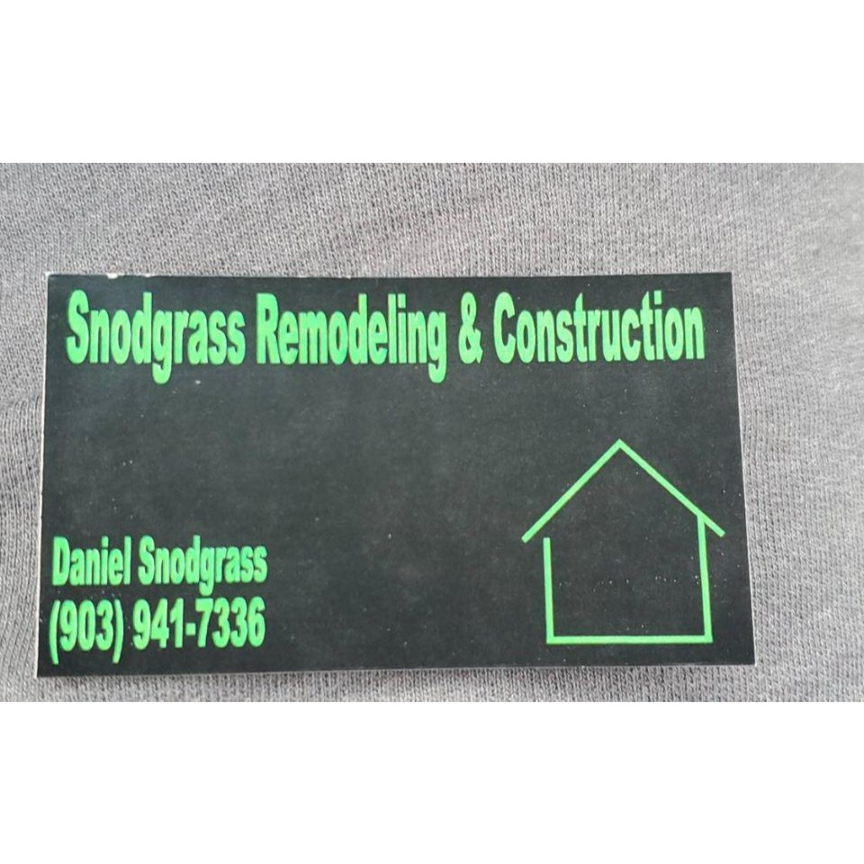 Snodgrass Remodeling and Construction