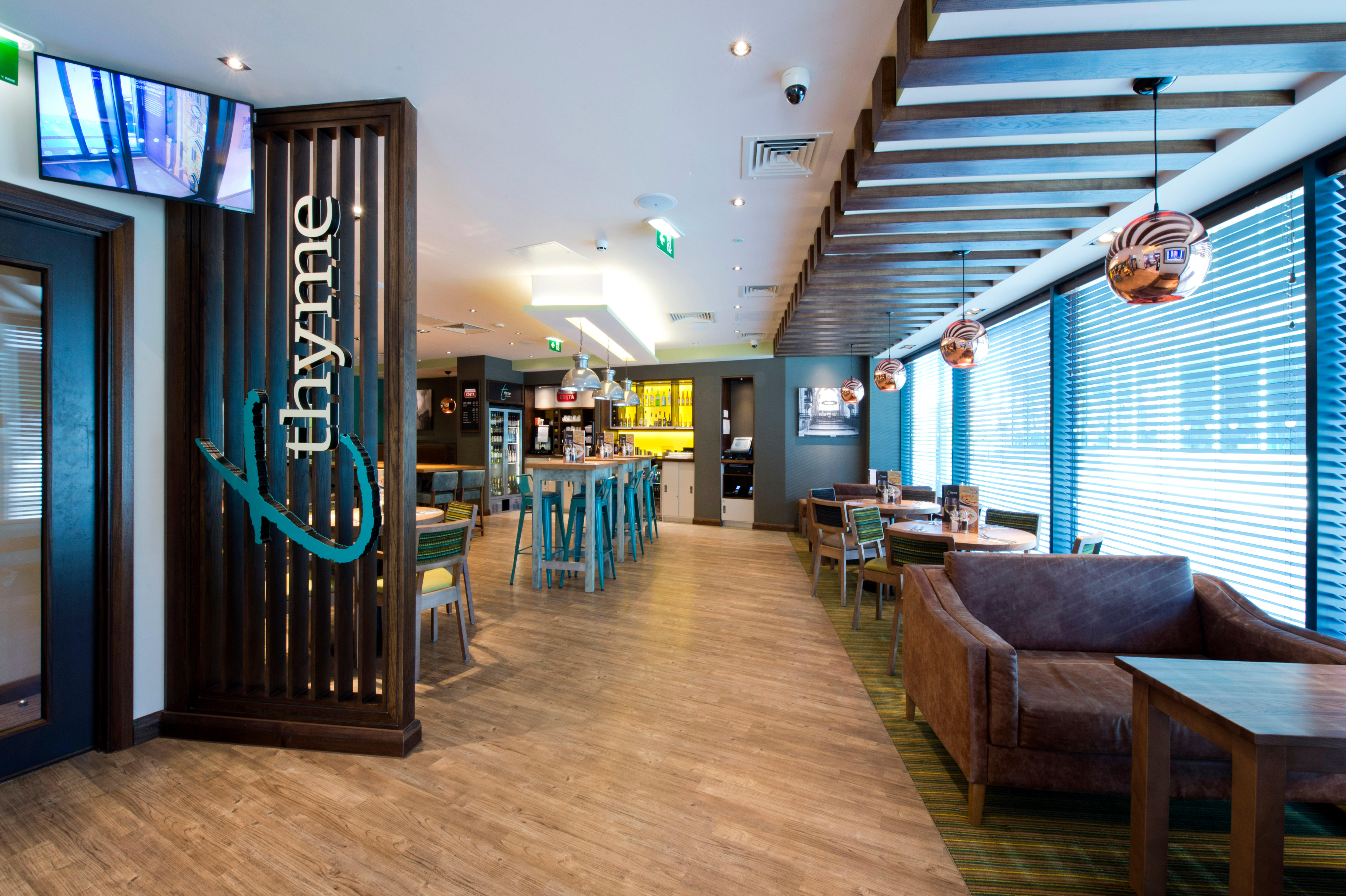 Thyme restaurant Premier Inn Blackburn Town Centre hotel Blackburn 03333 213081
