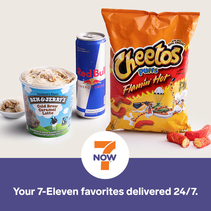 Get your favorites delivered with 7NOW delivery! All day, every day, delivered in about 30 mins.