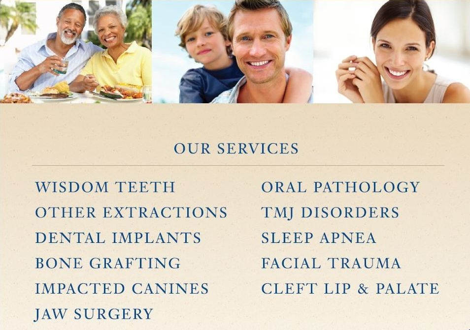 facial and surgery oral Carolina