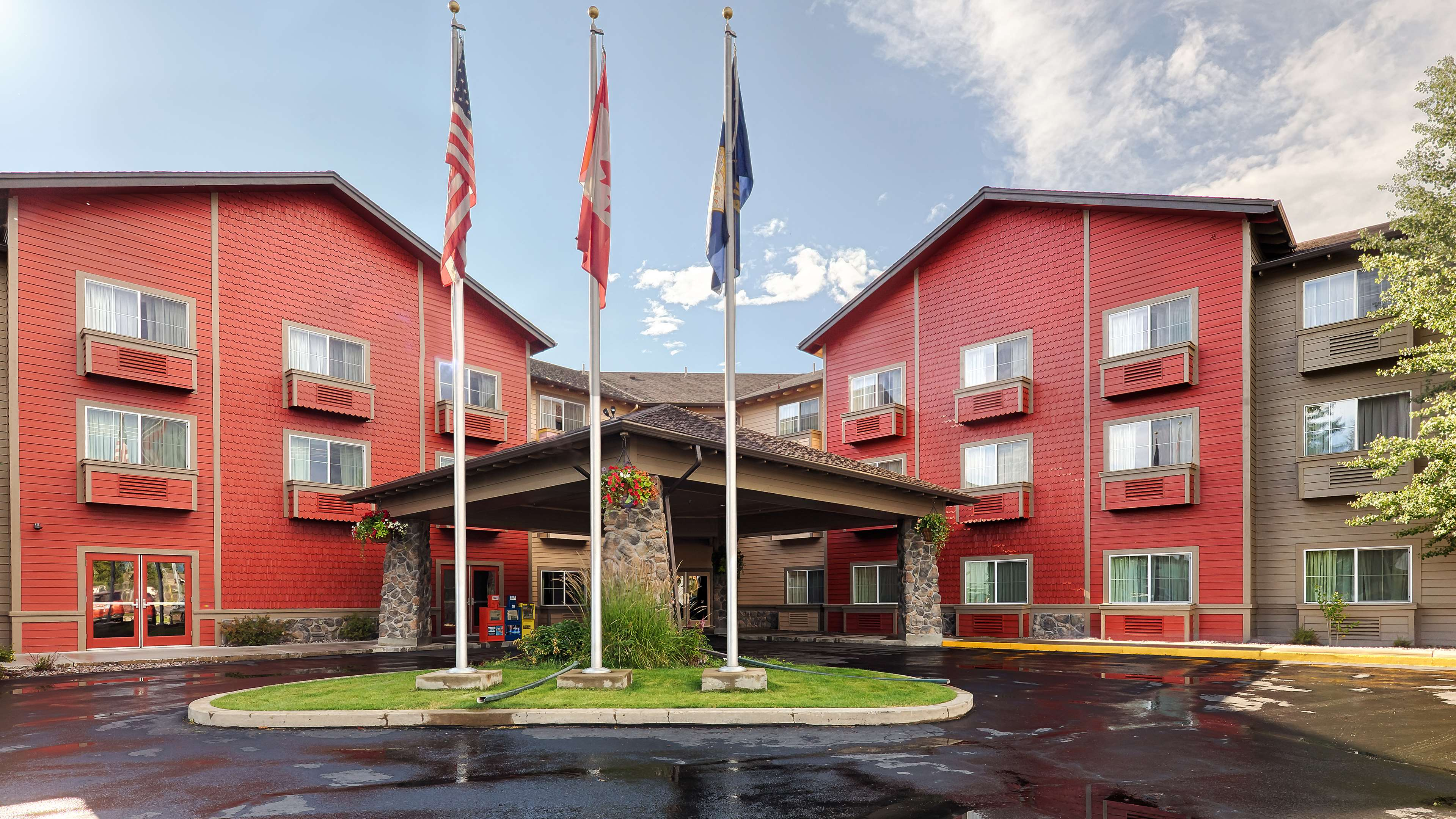 Best Western Rocky Mountain Lodge Whitefish Montana Mt