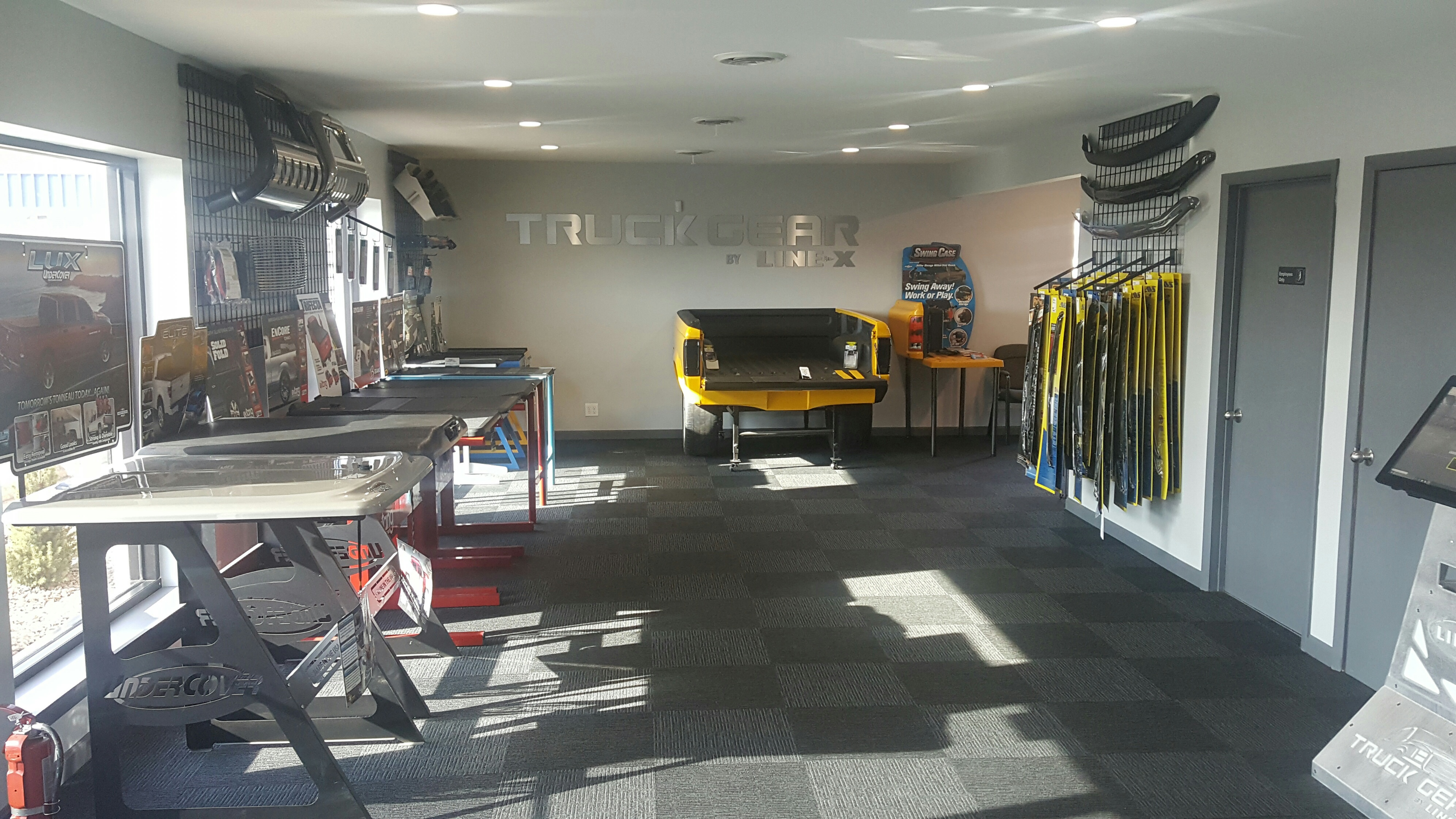 Overview of Sears Tire Service Department